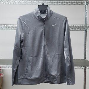 Nike golf zippered dri fit long sleeve w/ pocket